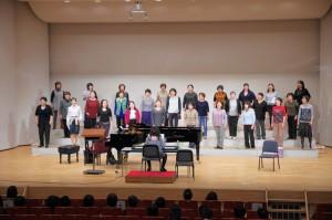2015年 イリス合唱祭:ファミーユ・ひろ女声合唱~エクシーズ~練習